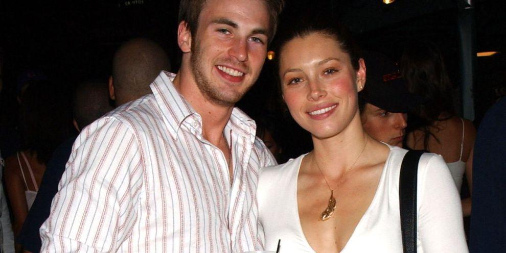 Chris Evans and Jessica