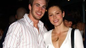Chris Evans and Jessica