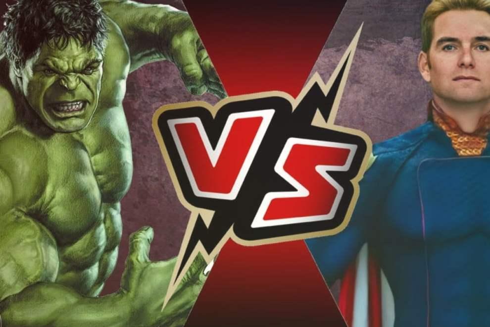 Hulk VS Homelander