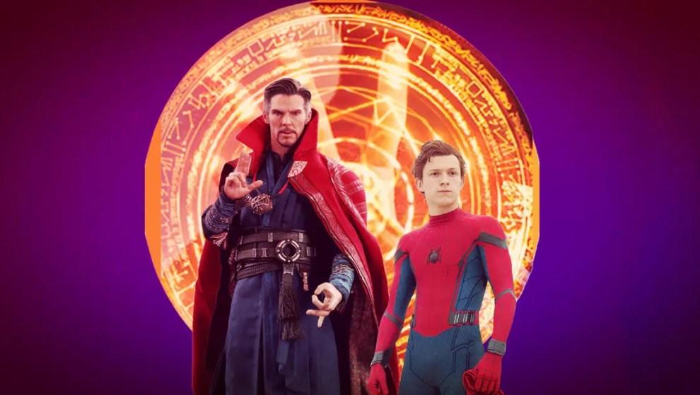 Doctor Strange seen with Peter Parker
