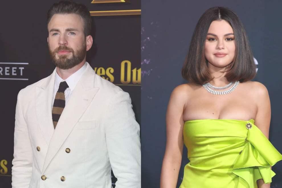 Selena Gomez & Chris Evans