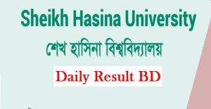 Sheikh Hasina University Admission Test Notice Result 2018-2019