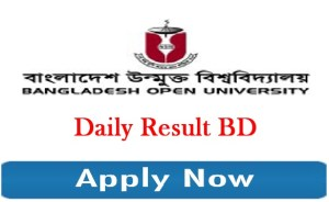 Bangladesh Open University MBA Admission Circular Result 2019