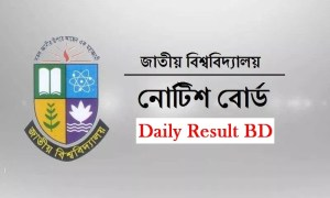 National University Notice Board 2019
