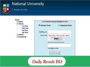 National University Professional Result 2019- www.nu.ac.bd