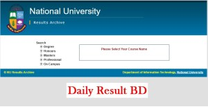 How To Check National University Honours 2nd Year Special Exam Result By Online?