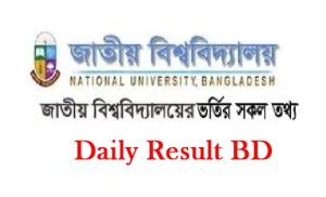 National University Admission Result Session 2020-2021 1