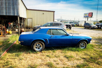 The 1969 Blue Mustang That Made My Wish List