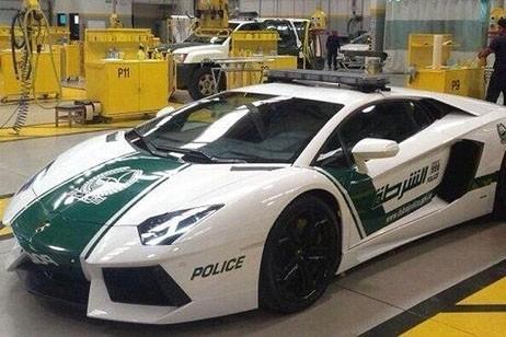 Lamborghini Adventador Police Car