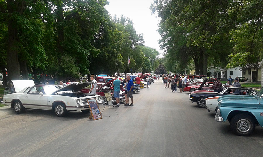The Bellwood Daze Car Show - Daily Rubber