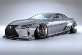 Does The Liberty Walk Custom Mods Work For The Lexus LC500?