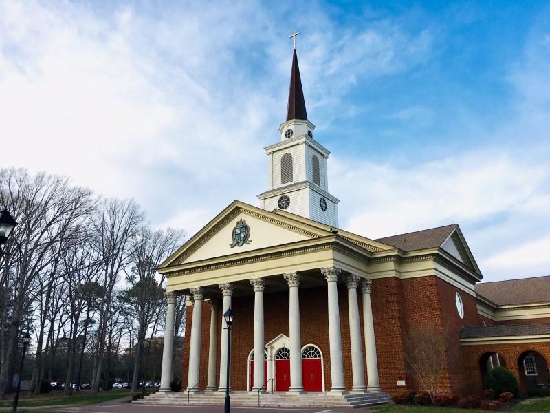 Regent's School of Divinity Chapel captured by M.A., Journalism student, Ericah Jones.