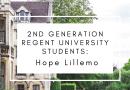 2nd Generation Regent University Students: Hope Lillemo