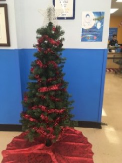 The Angel Tree in the Red Mill Commons Walmart is empty, because people have helped all the children. Virginia Beach, Virginia. Decmber 2017. (Shelly Slocum)