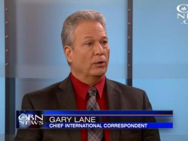 Gary Lane reports for Christian Broadcasting Network. (CBN.com)