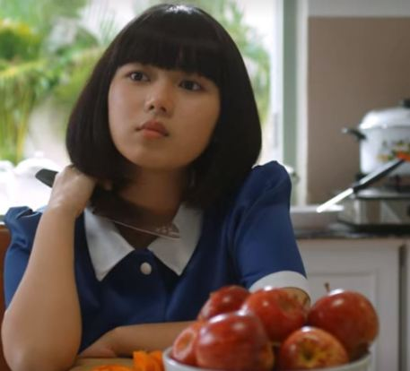 The Maid blue uniform