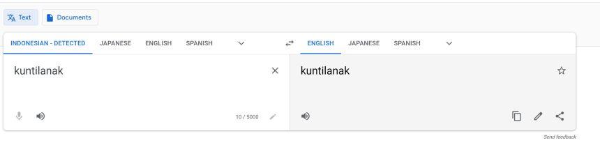 Kuntilanak meaning