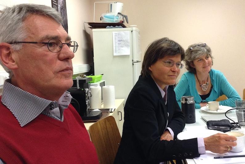 Les professeurs Eizirik, Cnop et Op de Beeck (ULB) collaborent au sein du nouveau centre de recherche sur le diabète
