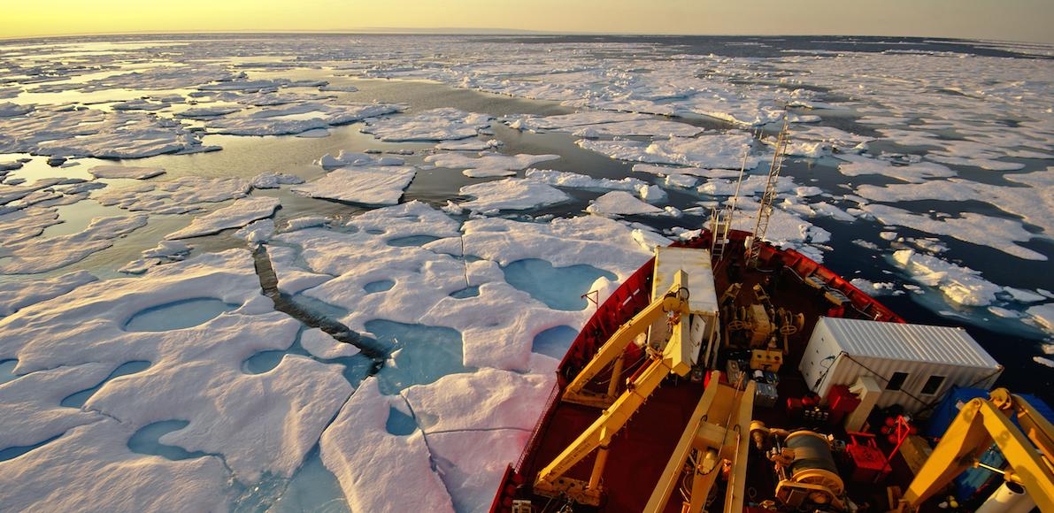 Bienvenue dans l'Arctique canadien. Photo Martin Fortier / ArcticNet