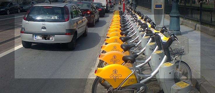 Il n'y a pas que la mobilité qui est partagée à Bruxelles, comme le montre Pierre Herfurth, d'impulse.brussels.