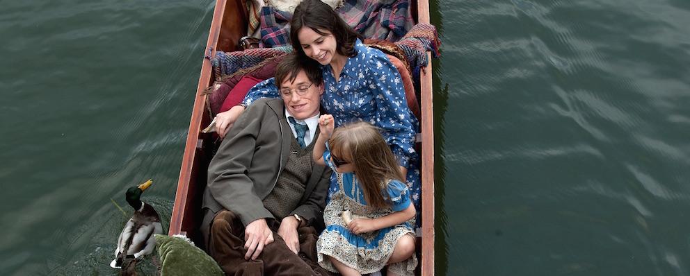 """Extrait du film """"Une merveilleuse histoire du temps"""", retraçant la vie de Stephen Hawking."""