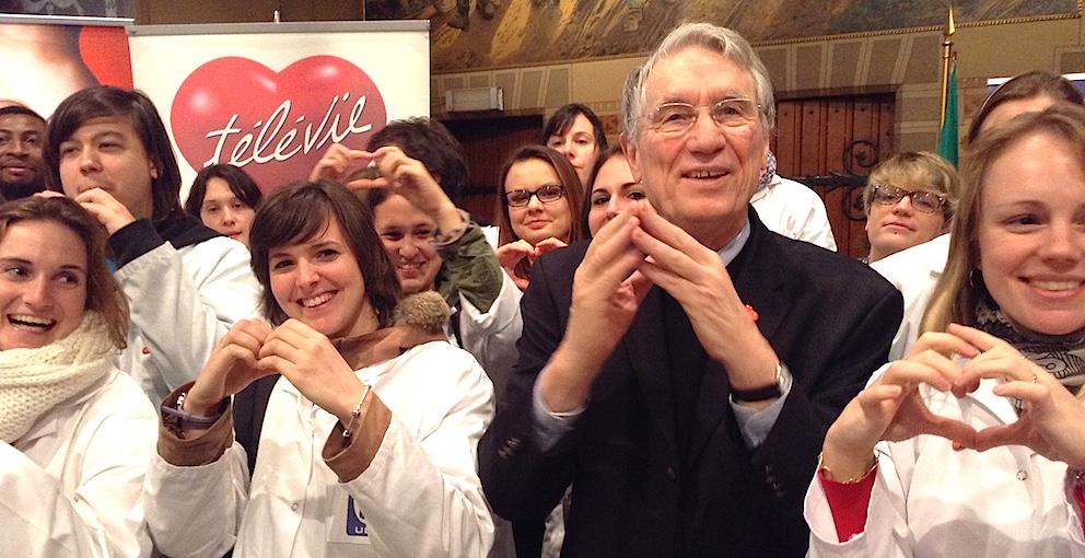 Le Pr Arsène Burny, président de la Commission scientifique du Télévie, a lancé mercredi à Bruxelles la 27e édition de la fameuse opération de solidarité.