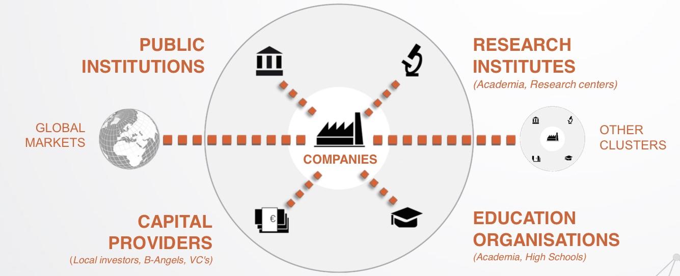 Ecosystème de l'innovation en Wallonie, selon BioWin.