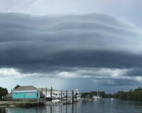 """Volutus, une nouvelle """"espèce"""" de nuage selon l'Organisation météorologique mondiale. © Christy Gray"""