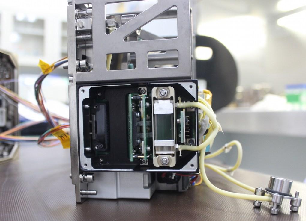 Voici un des exemplaires des quatre bioréacteurs expédiés à bord de l'ISS en décembre dernier © QINETIQ