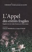 «L'appel des entités fragiles», Presses universitaires de Liège, 15 euros.