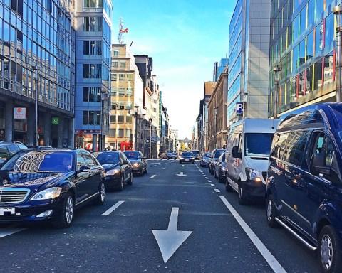 Rue de la Loi, Bruxelles.