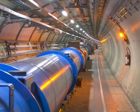 Tunnel du LHC. © CERN/Brice