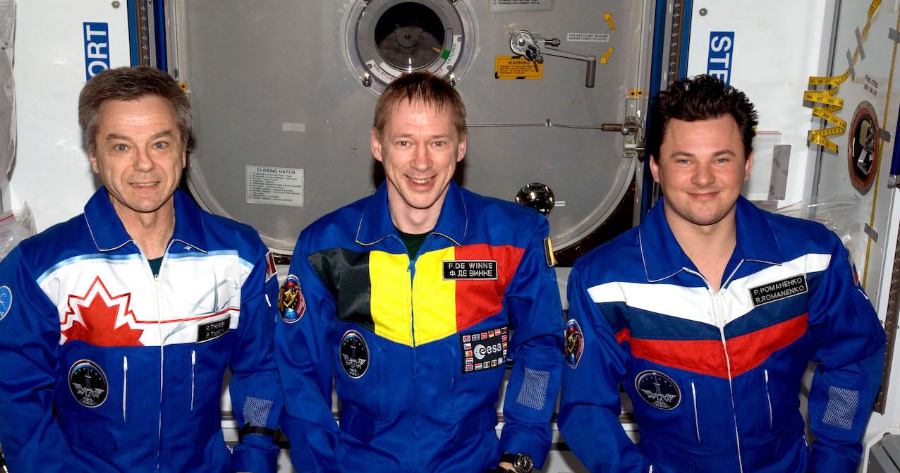 Il y a 10 ans, l'astronaute belge de l'ESA Frank de Winne réalisait une longue mission en orbite. © NASA