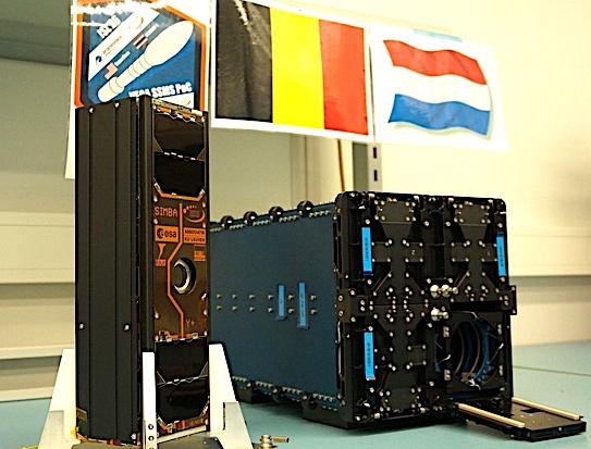 Le satellite belgo-néerlandais SIMBA d'étude du bilan radiatif de la Terre.