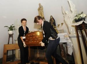 Transferts des restes de Jacques de Vitry, église Sainte-Marie d'Oignies. © Guy Focant (Cliquer pour agrandir)
