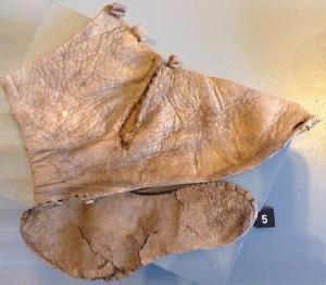 Chaussure d'enfant en cuir, (Namur) Collection SPW-DPat).