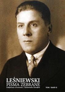 Stanislaw Lesniewski.