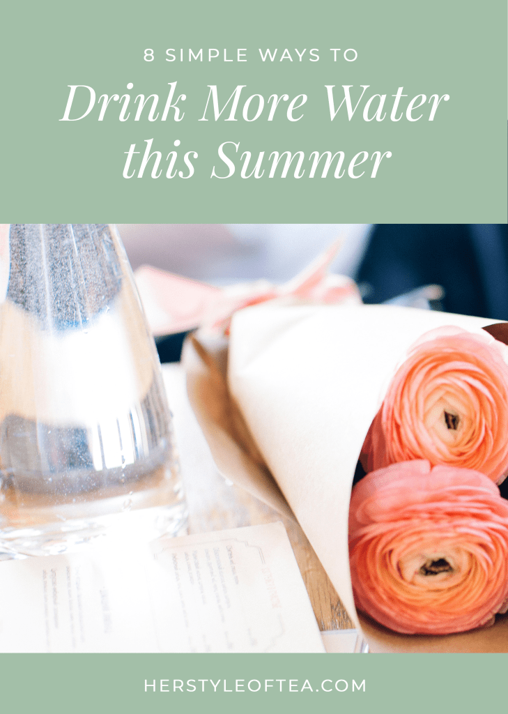 8 Simple Ways to Drink More Water this Summer