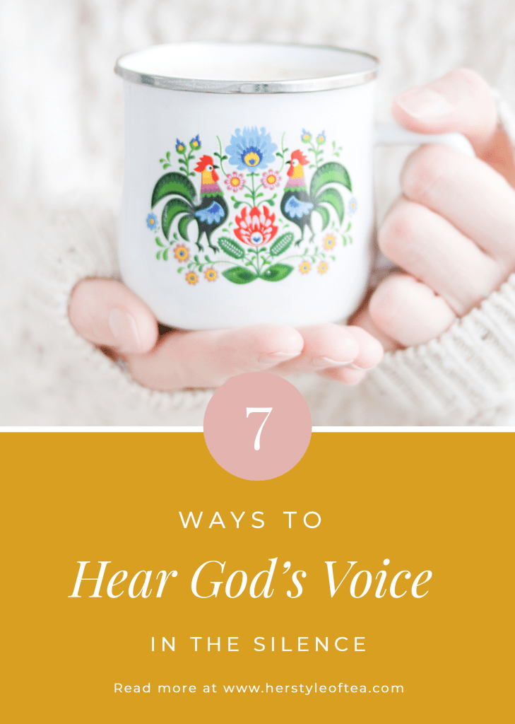 7 ways to hear God's voice in the silence