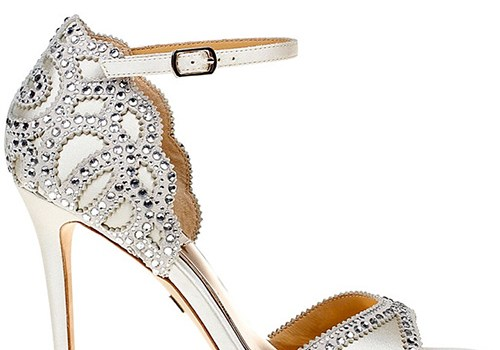 Badgley Mischka Roxy Vintage High Heel Sandals
