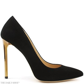 Daniel Meredith Black Suede Court