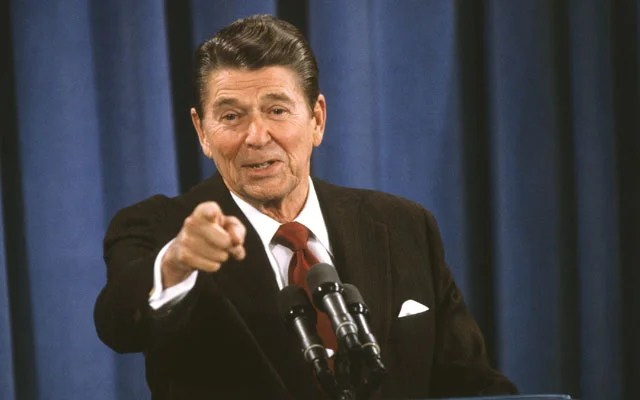 Reagan And The 1980s Back To The Future
