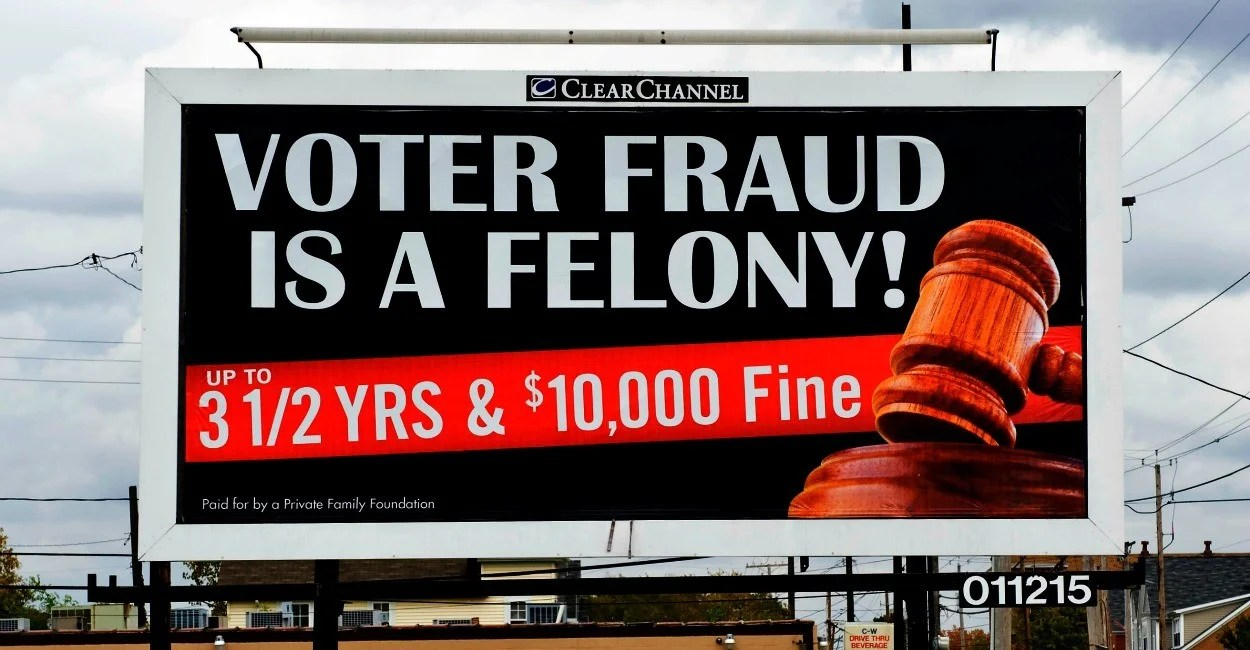 Image result for voter fraud