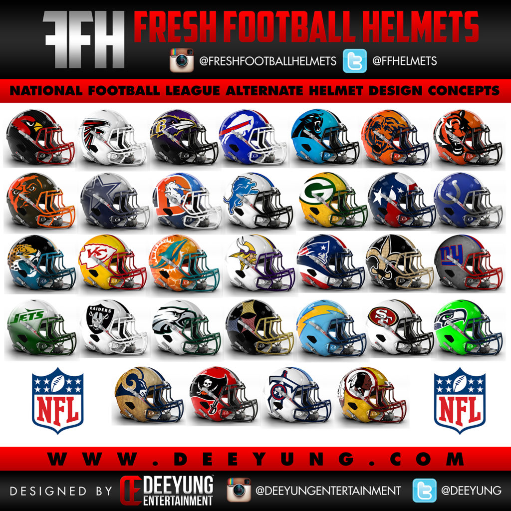 Graphic Designer Creates New Concept Helmets For All 32