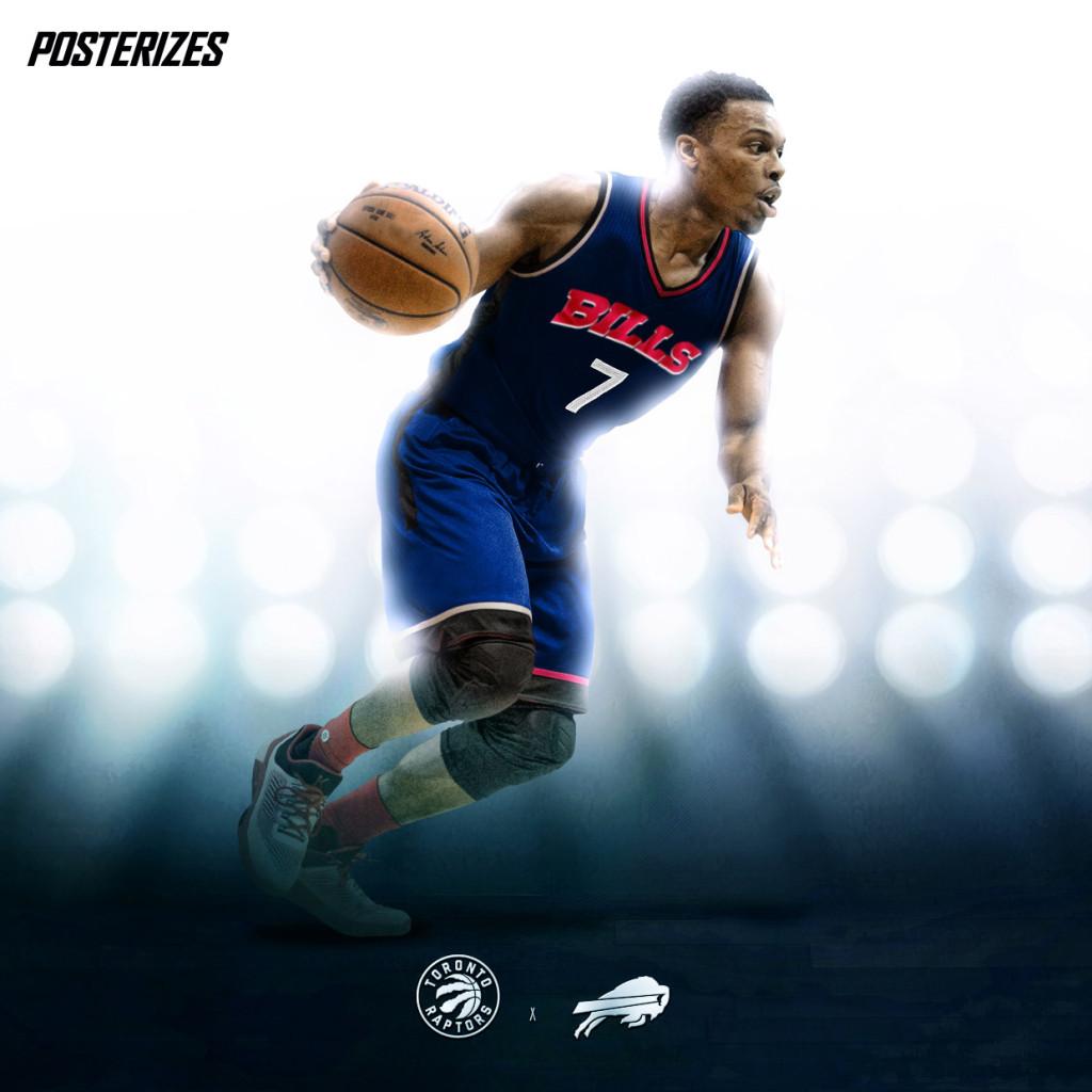 Designers Create Awesome NBA Player X NFL Team Mashup