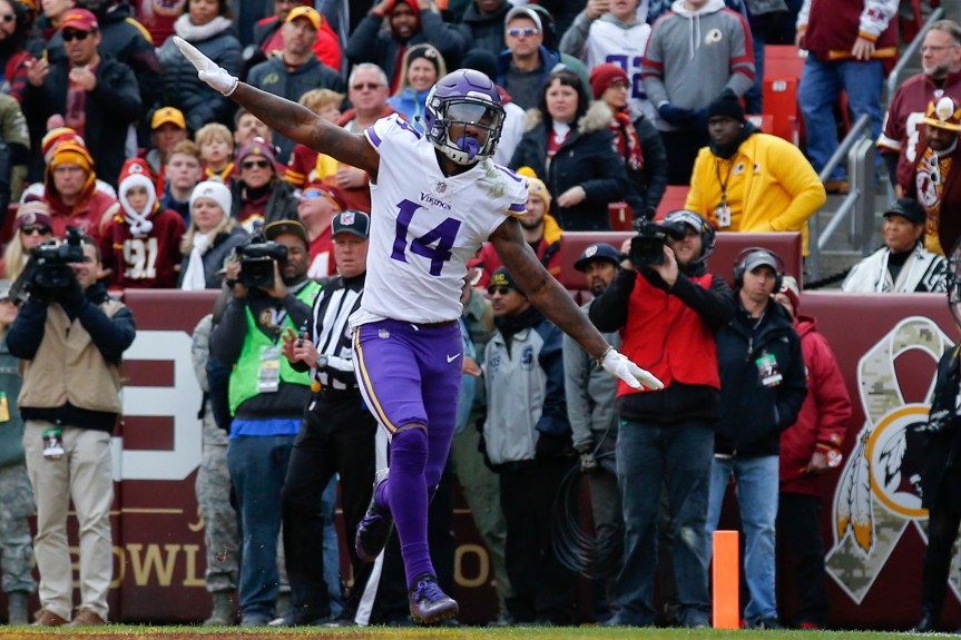 Image result for stefon diggs accused of 9/11 celebration
