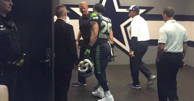 Image result for Earl Thomas and jason Garrett Picture
