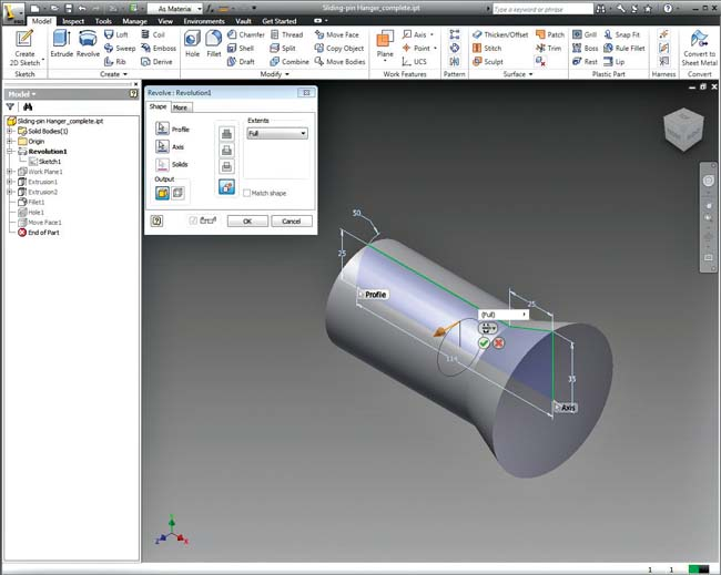 Autodesk Inventor Professional windows