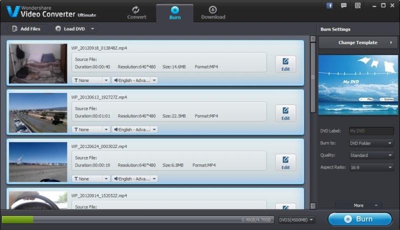 Wondershare Video Converter Ultimate windows