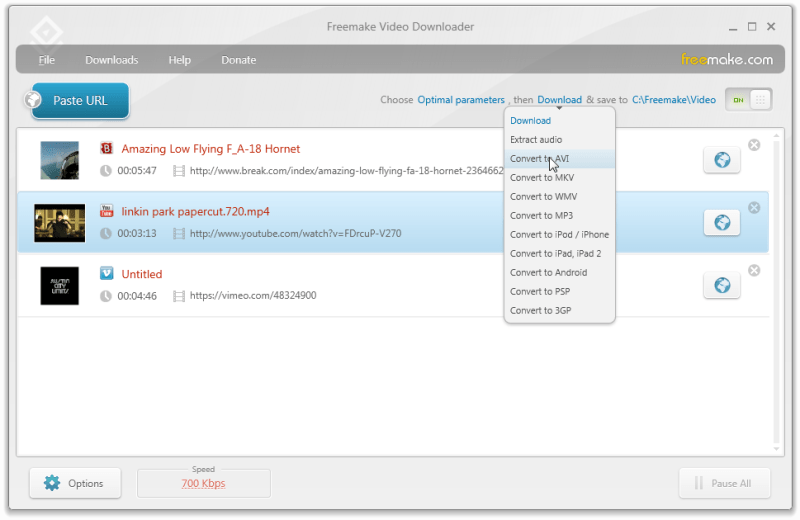 Freemake Video Downloader windows